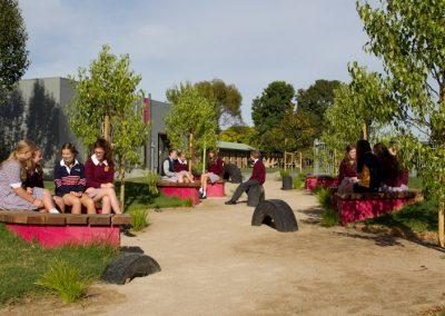 Active play & passive garden, Trinity College Colac