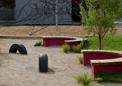 Active play & passive garden, Trinity College Colac